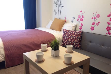 3 Apartment Together, Easy Access 20min to Namba - Ikuno Ward, Osaka - Apartment