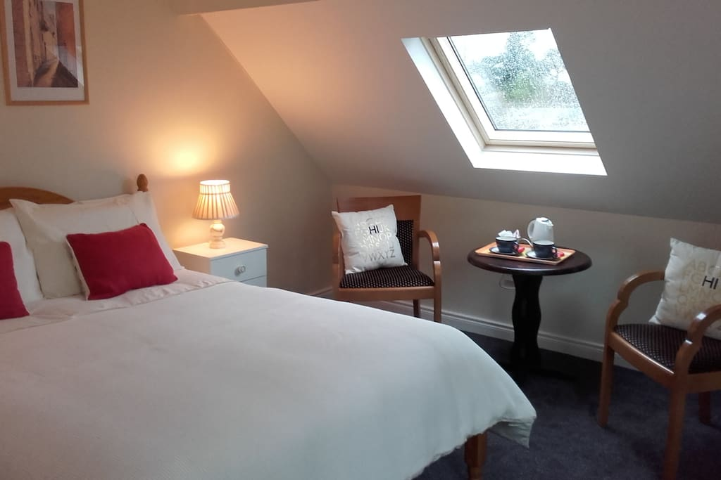 Our double en- suite room