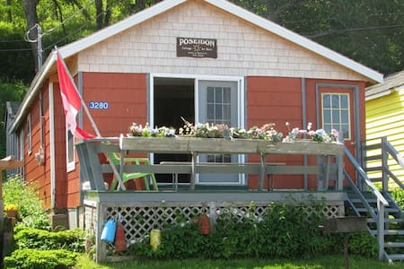 Fundy View Cottage - HIGHEST TIDE IN WORLD - harbourville - Cabin