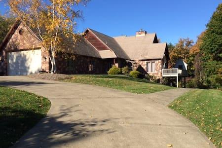 US Open - Stone & Cedar Home - House
