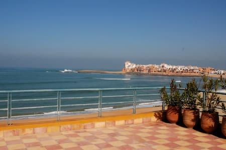 Entre Casablanca et Rabat, BOUZNIKA, plage de rêve - Ben Slimane - Casa de camp