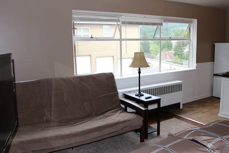 Clean, comfortable studio. A 2 minute walk to town - Apartment