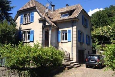 Chambre ou maison entière Saint Amarin Vosges - Saint-Amarin - Huis
