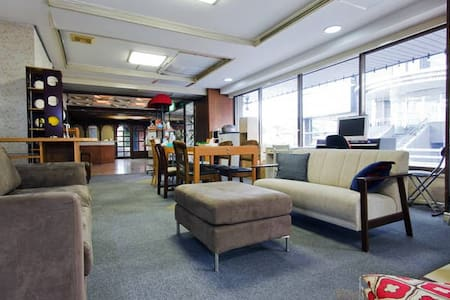3/4 - person private rooms, near to Osaka castle - Huoneisto