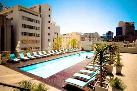 4 star hotel room in Cape Town CBD - Apartment