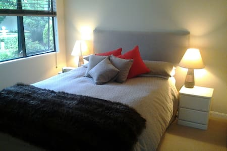 Cosy bedroom private bathroom - Papamoa - Bed & Breakfast