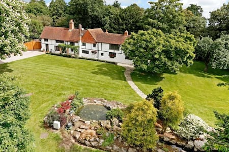 "500 Year Old ""The Bridge House"" Double Room & Bath - Arborfield - Dom"