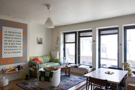 Appartement 4 personnes quartier Saint-Boniface - Ixelles - Lejlighed