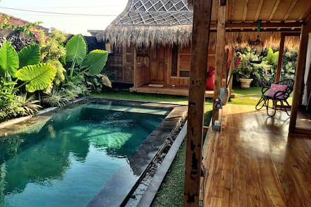 Pool house near beach in Canggu