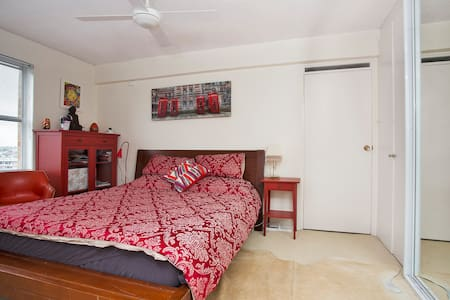 Luxurious King size Bed + views & 10 min from CBD - Darling Point