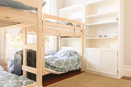 Bunkbed 1 @ SunnySide Travel House - San Francisco - House