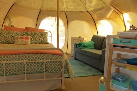 Boutique Glamping Lotus Belle Tent ~ Arthurs Seat - Tent