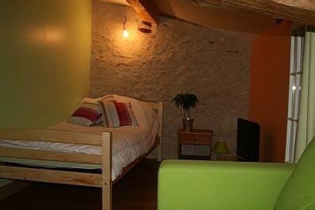 Chambre avec Spa, sauna, piscine - Haus
