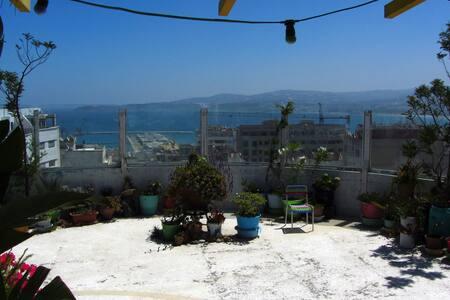 Chambre dans Loft avec terrasse panoramique - Tanger - Loft