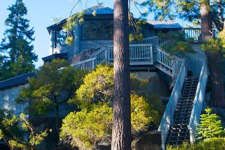 Like a Treehouse; Amazing Views, Walk to the Beach - House