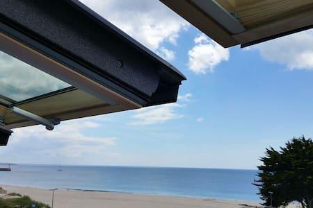 Maison sur la plage - Vue mer - Dom