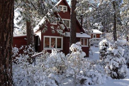 Wrightwood SkiChalet WritersRetreat - House