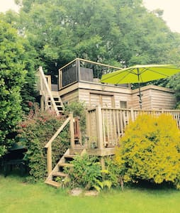 Island View Cabin - Tenby - S.Wales - Cabaña