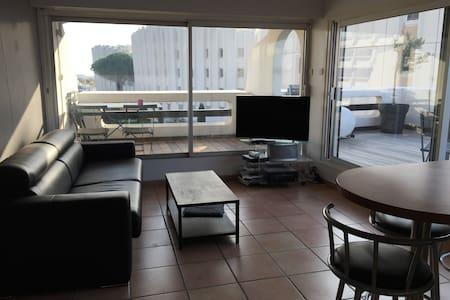 Appartement vue mer la grande motte - Apartment