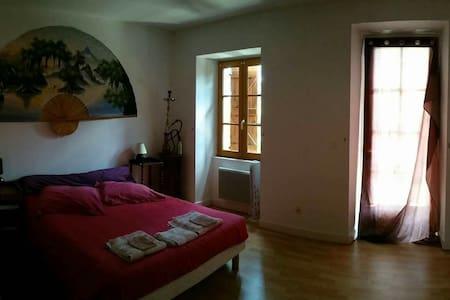 Belle chambre avec sdb et wc privée - Gourdon - Haus