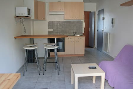 2 pièces 31 m2 chambre, cuisine équipée, terrasse - Apartment