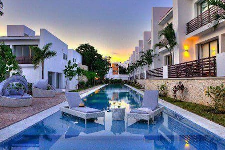 Jungle view Rm & exclusive beach - Playa del Carmen  - Maison
