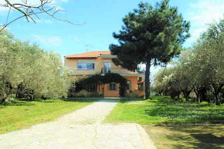 Private villa 500m from the beach!! - Σταυρός - Villa