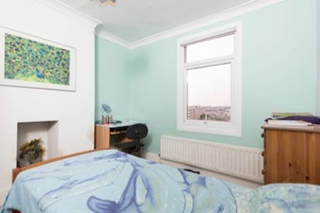 Brighton single room with a view - Brighton - Casa