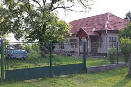 Hongaars landhuis in Egerlövö - Huis