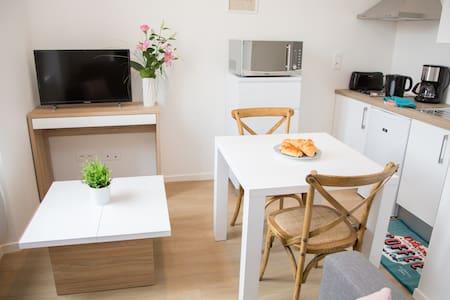 appartement centre ville lumineux 2 pers(1er étage - Albi - Apartment