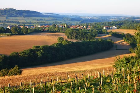 Typical Burgundy house, great view. - Hus