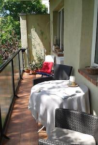FREE parking, WIFI, Central peaceful green area - Budapest