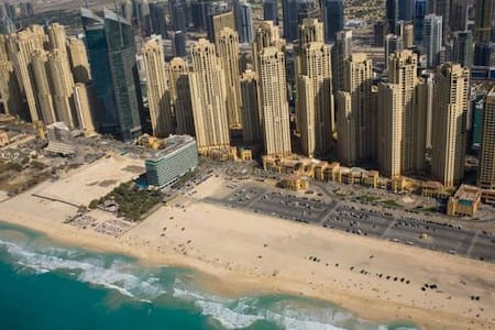 Bed space on JBR right on the BEACH - Apartment