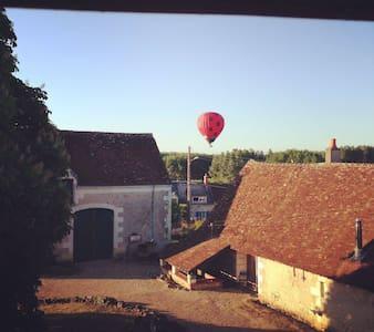 Gite de charme, chateau, brocante - Saint-Georges-sur-Cher - Cabane