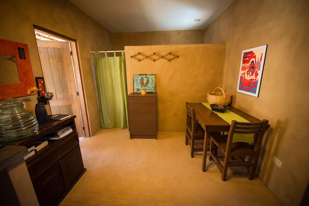 main bedroom/ living space