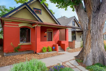 Historic Victorian 1Bd/1Bh near heart of DT Denver - House