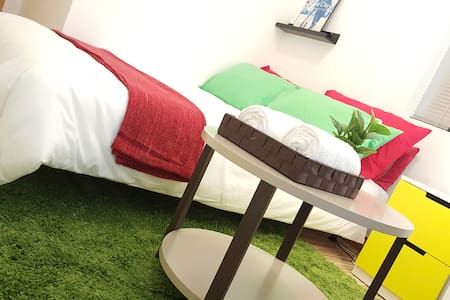 ☼☼Lovely Colourful Studio in TST - Hong Kong - Appartement