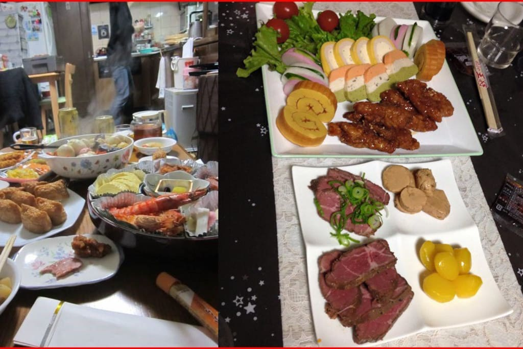 Japanese home cooking(New Year)