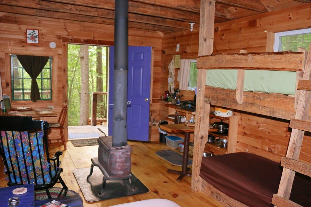 Off the grid solar powered Retreat Cabin