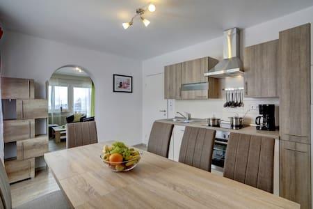 Neue 130 qm Wohnung 6 Pers. im Bayerischen Wald! - Lägenhet