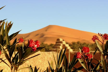 La Vallée des Dunes-Chambre twin - Bed & Breakfast