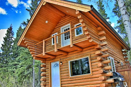 Cozy Alaskan Log Cabin - Fairbanks - Cottage