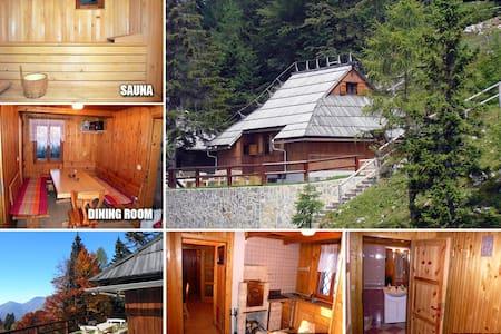 Luxury cottage on Velika planina - Stuga