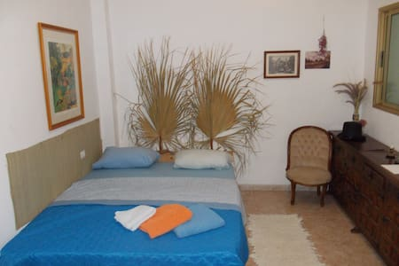 Private room, direct Airport bus, beach 2km - Guargacho - Apartment