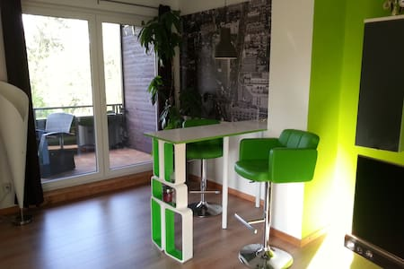 Schöne Wohnung im Grünen nähe HH - Apartamento
