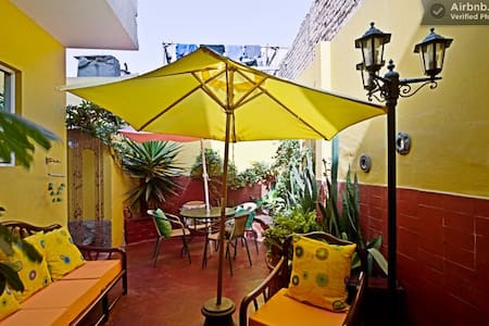 Perfect Home to relax after a long day in Lima Very private, clean, friendly and walking distance to shops, grocery stores, parks, Barranco downtown, beaches, restaurants, bars etc Casa Anita is truly a Homa away from Home.