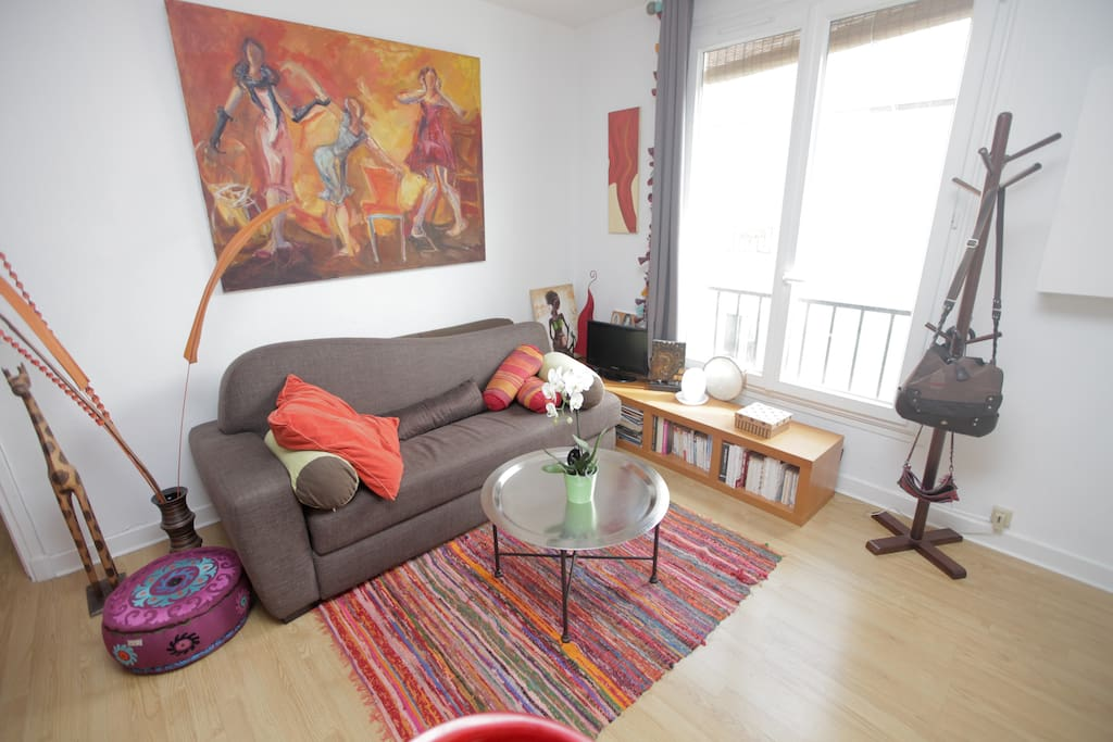 cosy flat 42m2 Canal St Martin