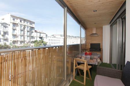 F2 + terrasse à 150mètres du Palais - Cannes - Appartamento