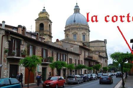 La Corte degli Angeli - Assisi- Il Balcone - Santa Maria degli Angeli - House