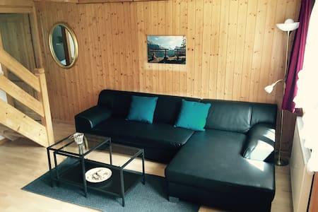 4-Zimmer Apartment mitten im Dorf - Kandersteg - Apartment